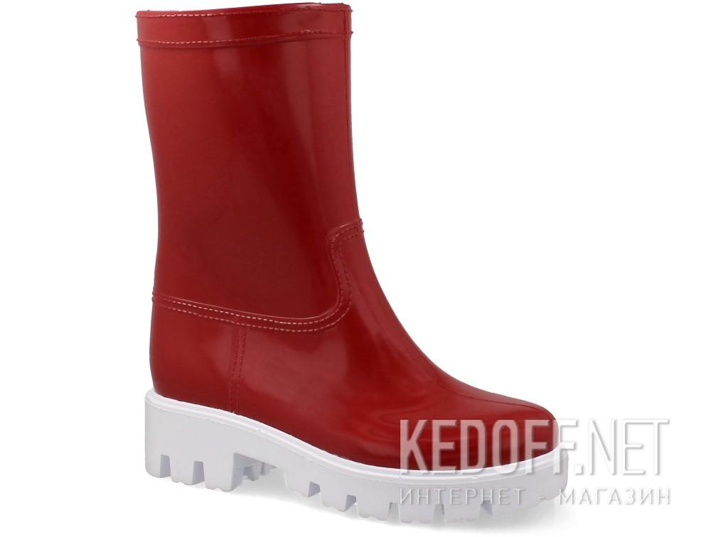 Купить Женские резиновые сапоги Forester Rain 326-47   (красный)