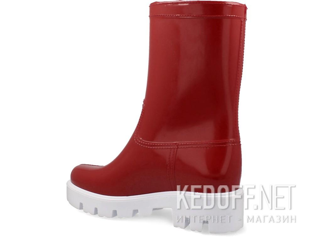 Женские резиновые сапоги Forester Rain 326-47   (красный) купить Украина