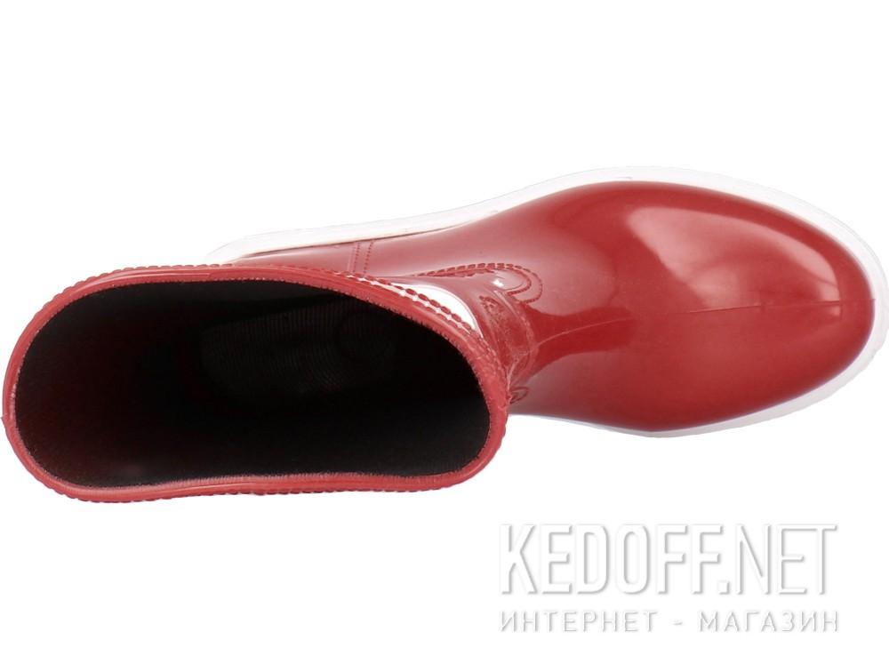 Оригинальные Женские резиновые сапоги Forester Rain 326-47   (красный)
