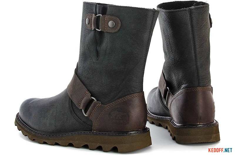 Сапожки Sorel Scotia 1999-010 Кожа крейзи