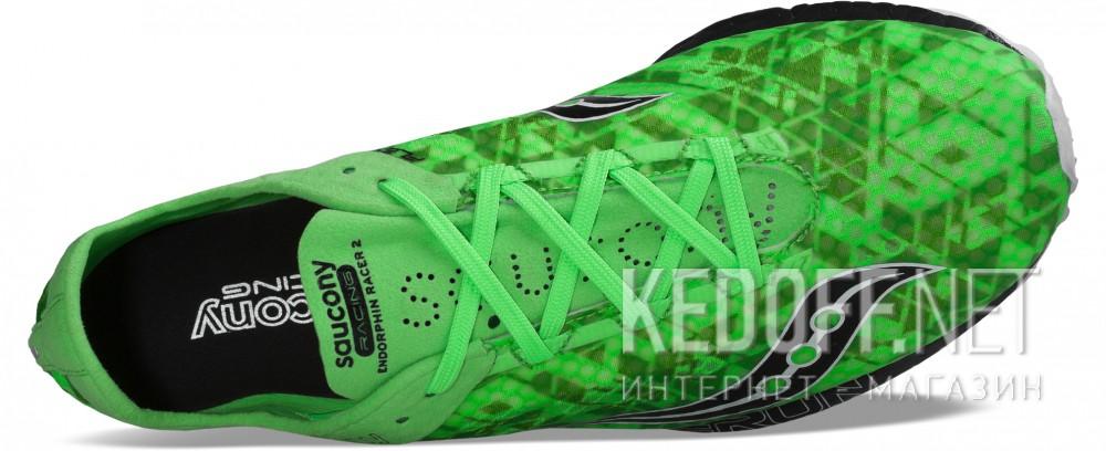 Оригинальные Мужская спортивная обувь Saucony men's Endorphin Racer 2 S29031-1   (зеленый)