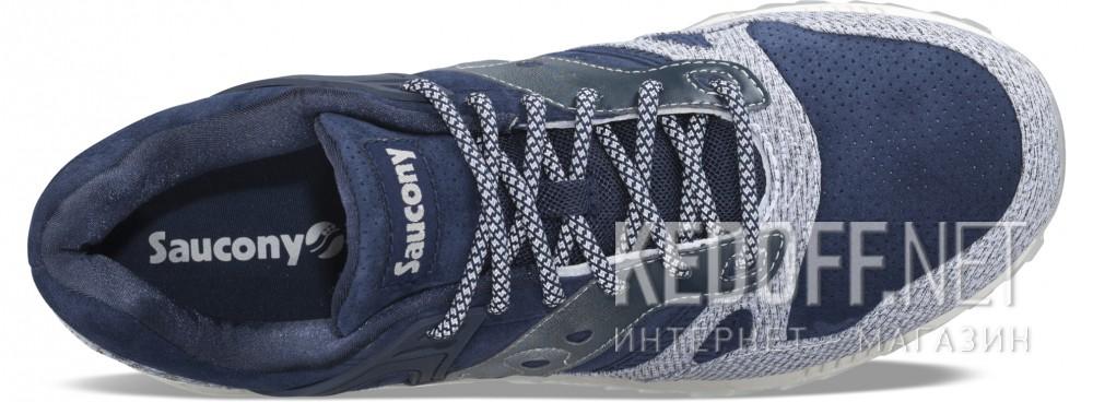 Оригинальные Кроссовки Saucony S70316-1 унисекс   (тёмно-синий/синий/серый)