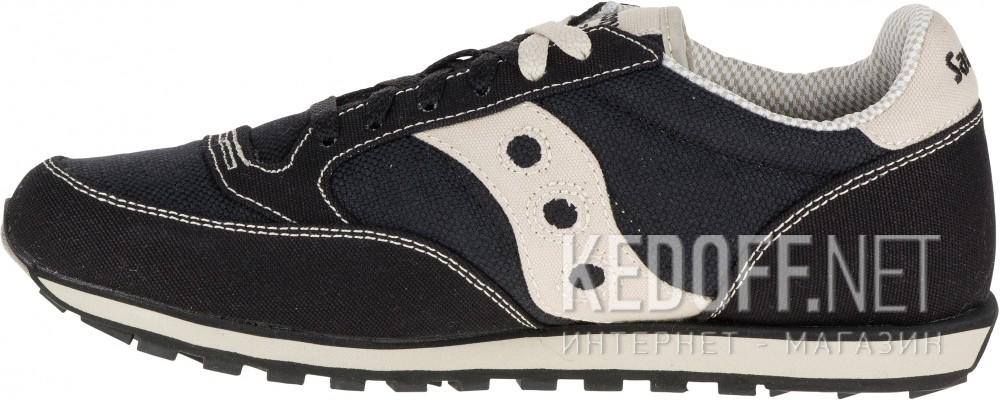 Оригинальные Мужские кроссовки Saucony Jazz Low Pro Vegan 2887-4   (чёрный)