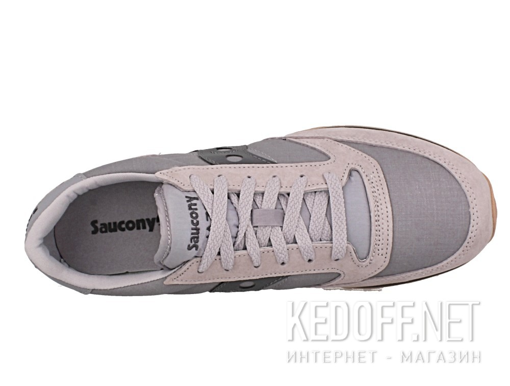 Кроссовки Saucony Jazz Original Cl S70353-1 унисекс   (коричневый/серый) описание