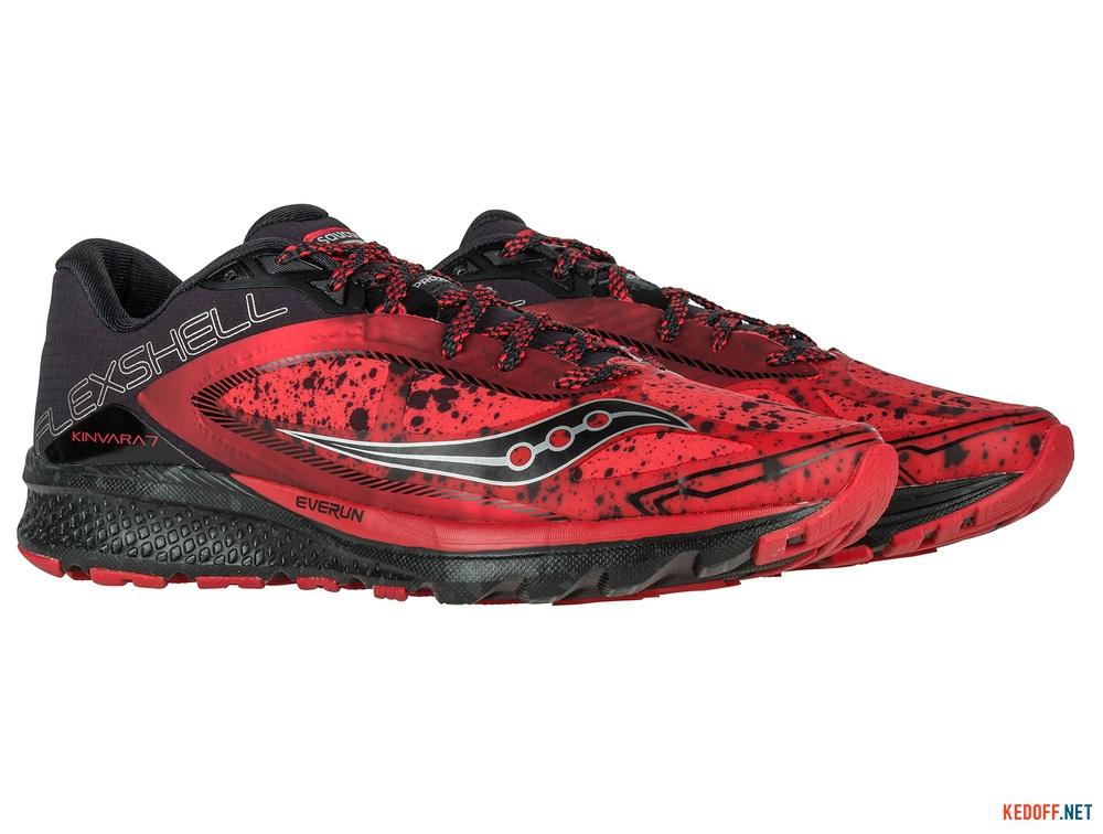 Купить Мужские кроссовки Saucony Kinvara 7 Runshield S20299-1   (красный)