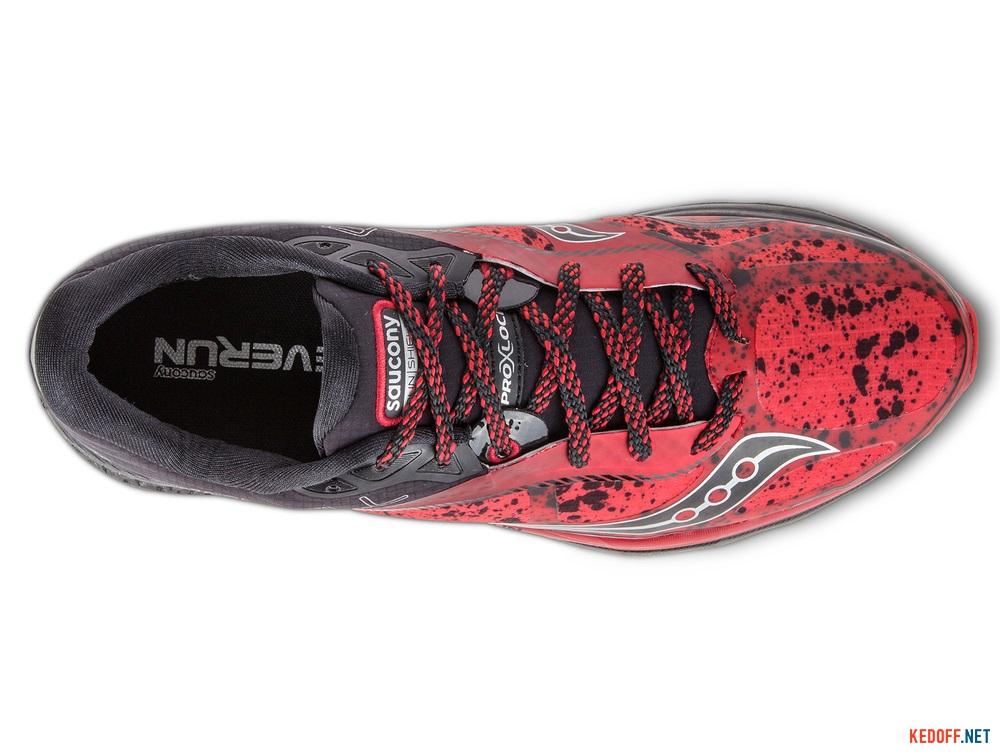Оригинальные Мужские кроссовки Saucony Kinvara 7 Runshield S20299-1   (красный)