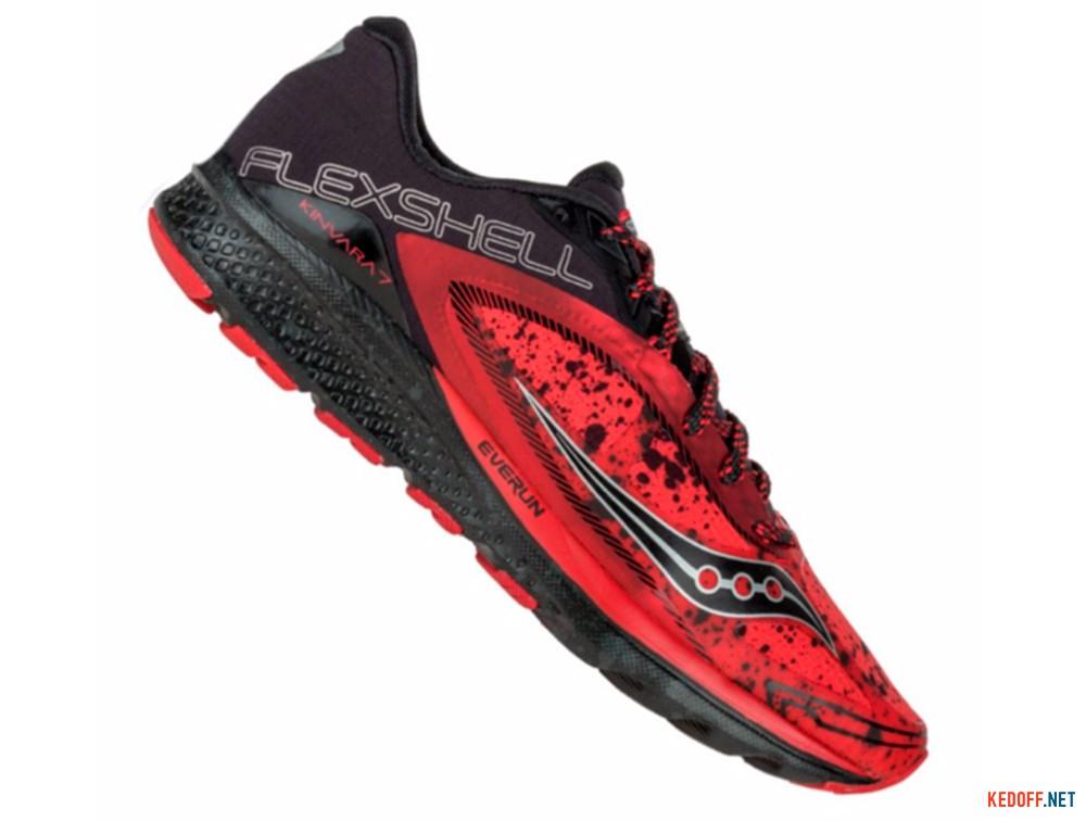 Цены на Мужские кроссовки Saucony Kinvara 7 Runshield S20299-1   (красный)