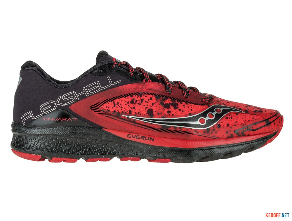 Мужские кроссовки Saucony Kinvara 7 Runshield S20299-1   (красный) купить Украина