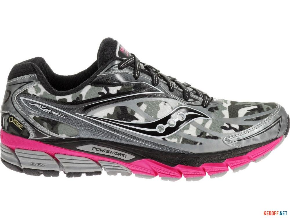 Текстильная обувь Saucony Ride 8 Gore-Tex 10286-1 унисекс   (розовый/чёрный/серый) купить Украина