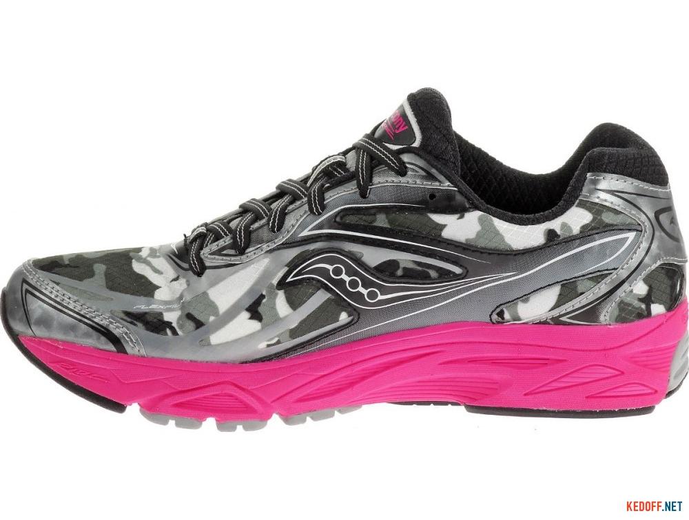 Текстильная обувь Saucony Ride 8 Gore-Tex 10286-1 унисекс   (розовый/чёрный/серый) купить Киев