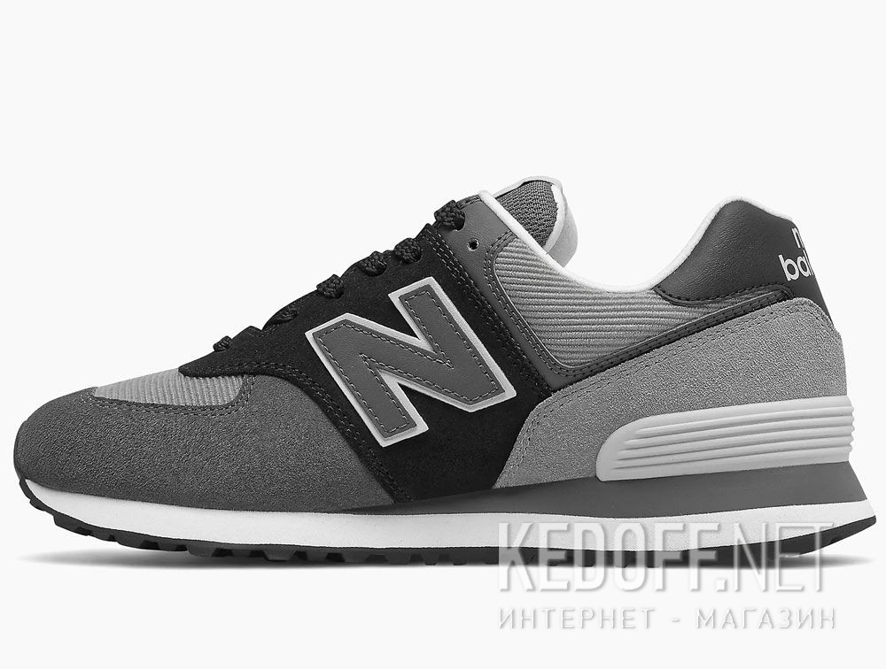 Оригинальные Серые кроссовки New Balance WL574WU2