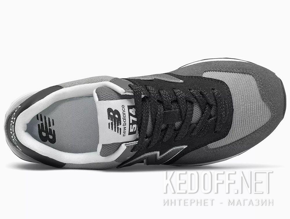Серые кроссовки New Balance WL574WU2 описание