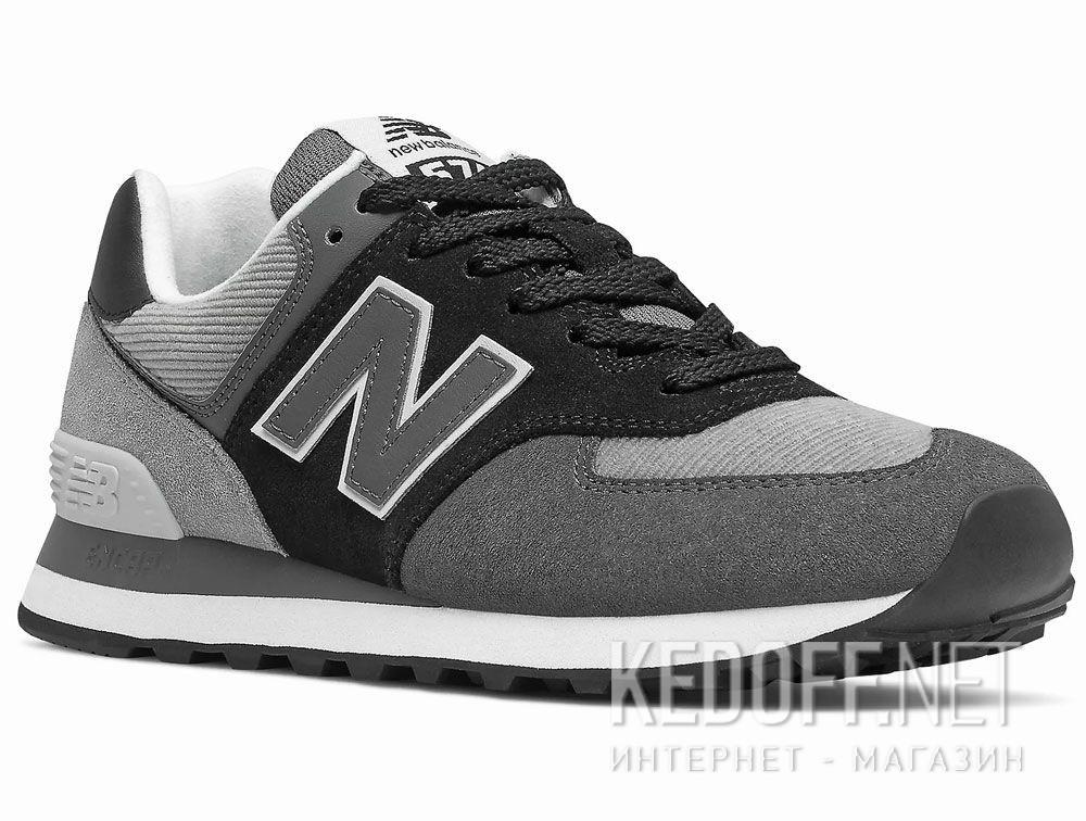 Купить Серые кроссовки New Balance WL574WU2