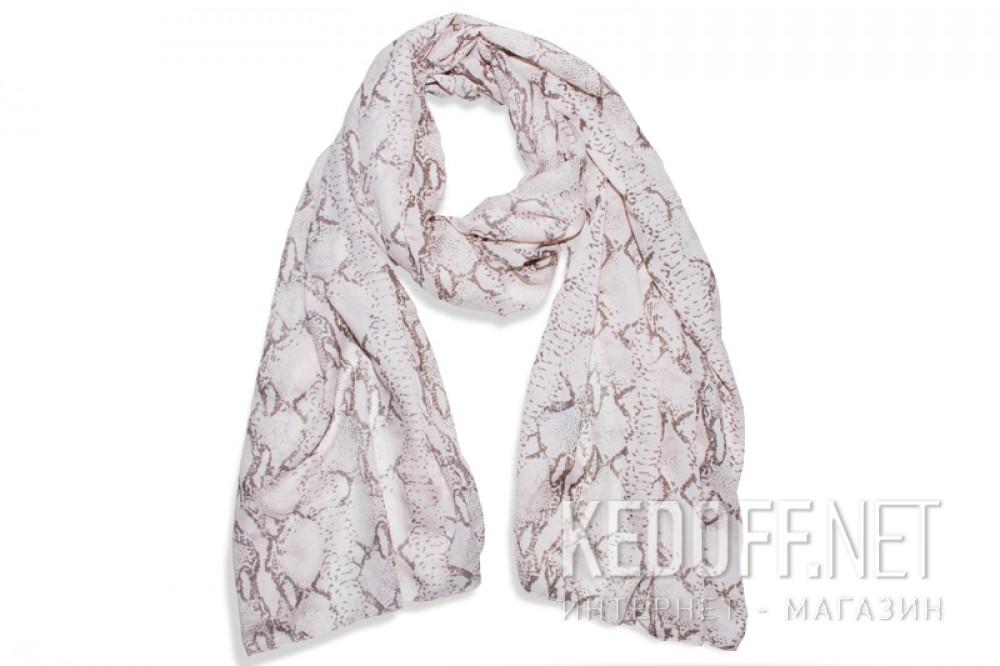 Купить Шарфы Las Espadrillas 110713-5 унисекс   (розовый/чёрный/бежевый)