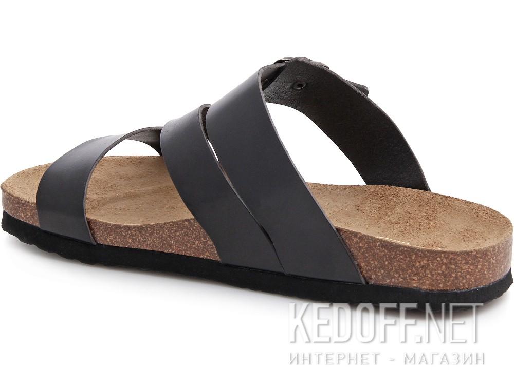 Мужская ортопедическая обувь Las Espadrillas 06-0188-001   (чёрный) купить Украина