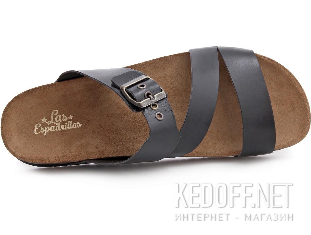 Оригинальные Мужская ортопедическая обувь Las Espadrillas 06-0188-001   (чёрный)