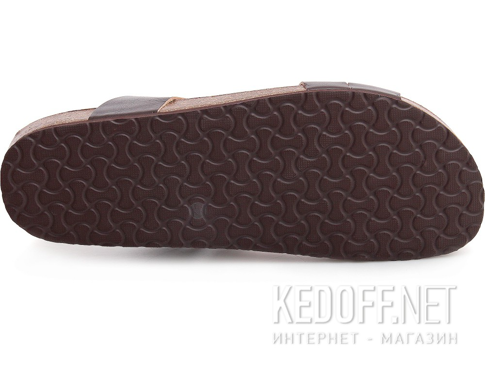 Мужские сланцы и шлепанцы Las Espadrillas 06-0188-002   (коричневый)