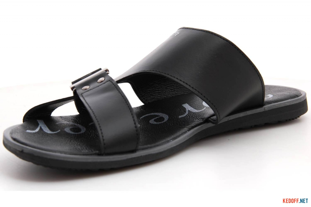 Men's Slippers Forester 162-03-R BLK