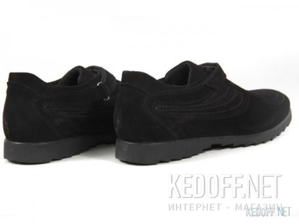 Оригинальные Мужские туфли Subway 342-3358   (чёрный)