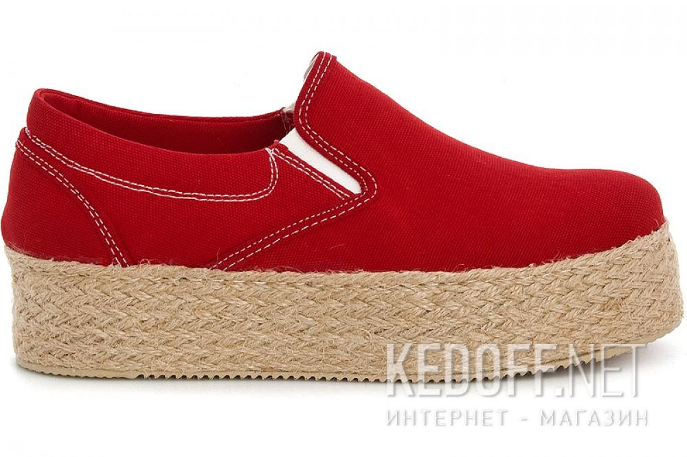 Sneaker wedge Las Espadrillas Red Jute 5105 SL