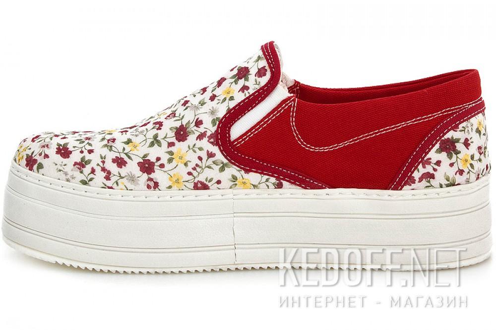 Слипоны Las Espadrillas 5110 SL унисекс   (multi-color) купить Киев