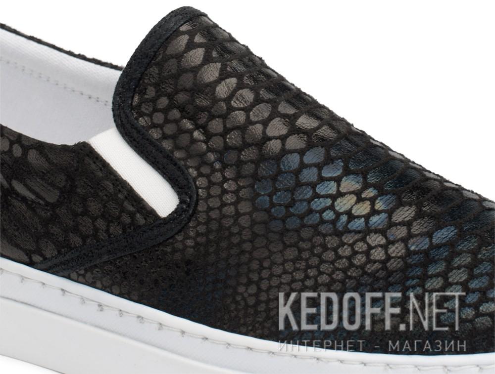 Текстильная обувь Las Espadrillas 6405-27 унисекс   (чёрный) купить Украина