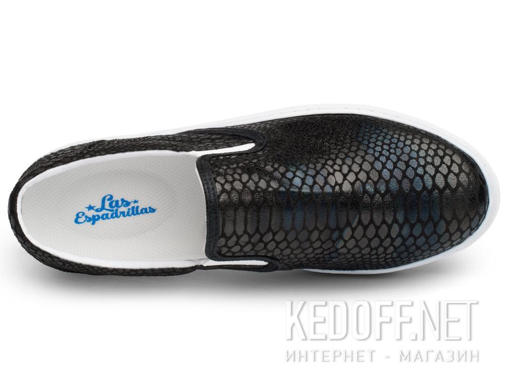 Оригинальные Текстильная обувь Las Espadrillas 6405-27 унисекс   (чёрный)