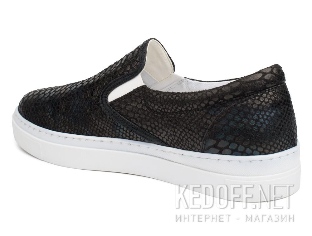 Текстильная обувь Las Espadrillas 6405-27 унисекс   (чёрный) купить Киев