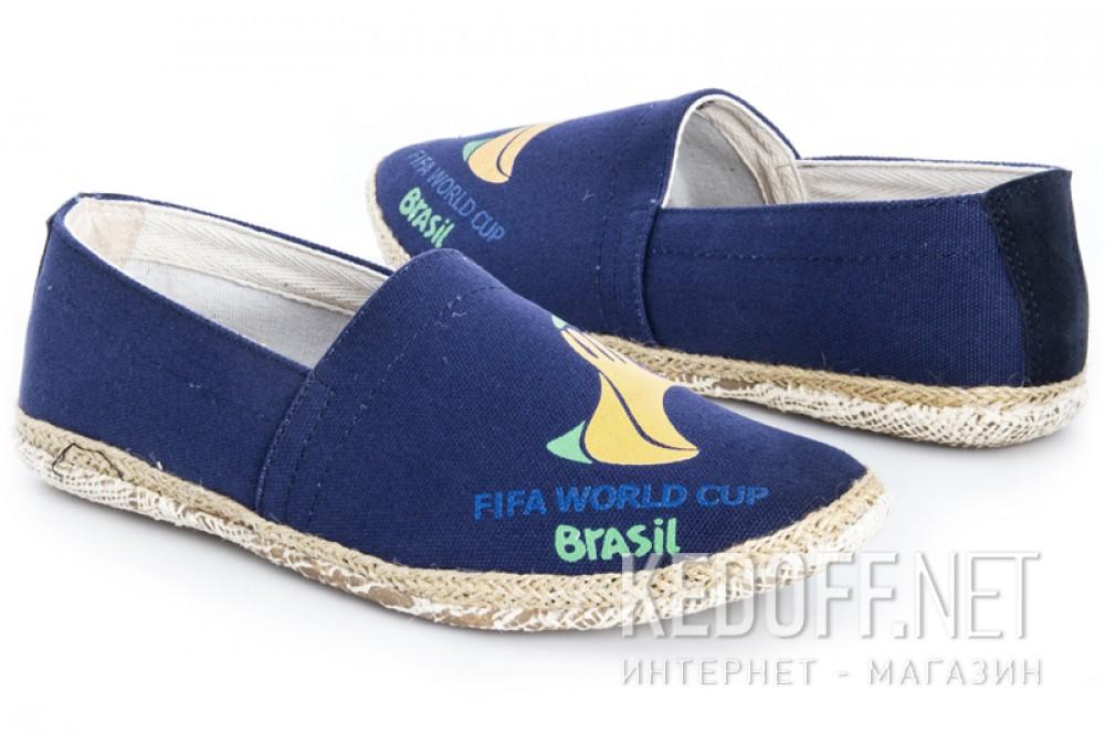 Мужские эспадрильи Las Espadrillas 929-89SL   (синий) купить Украина