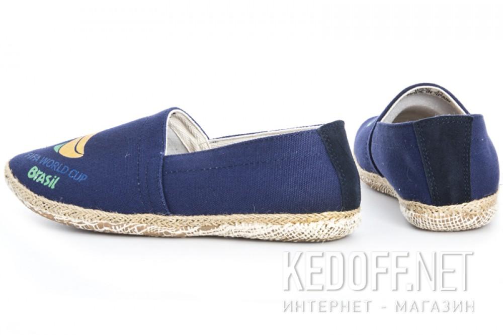 Мужские эспадрильи Las Espadrillas 929-89SL   (синий) купить Киев