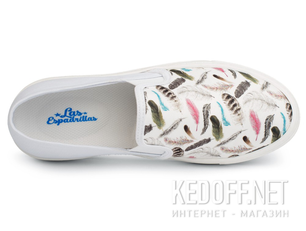 Слипоны Las Espadrillas Feather 6403-13