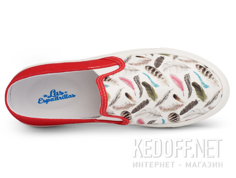 Las Espadrillas Feather  6403-1347