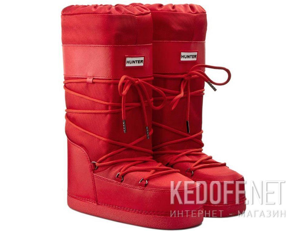 Сноубутсы Hunter Chatel W24357-47 (красный) купить Украина