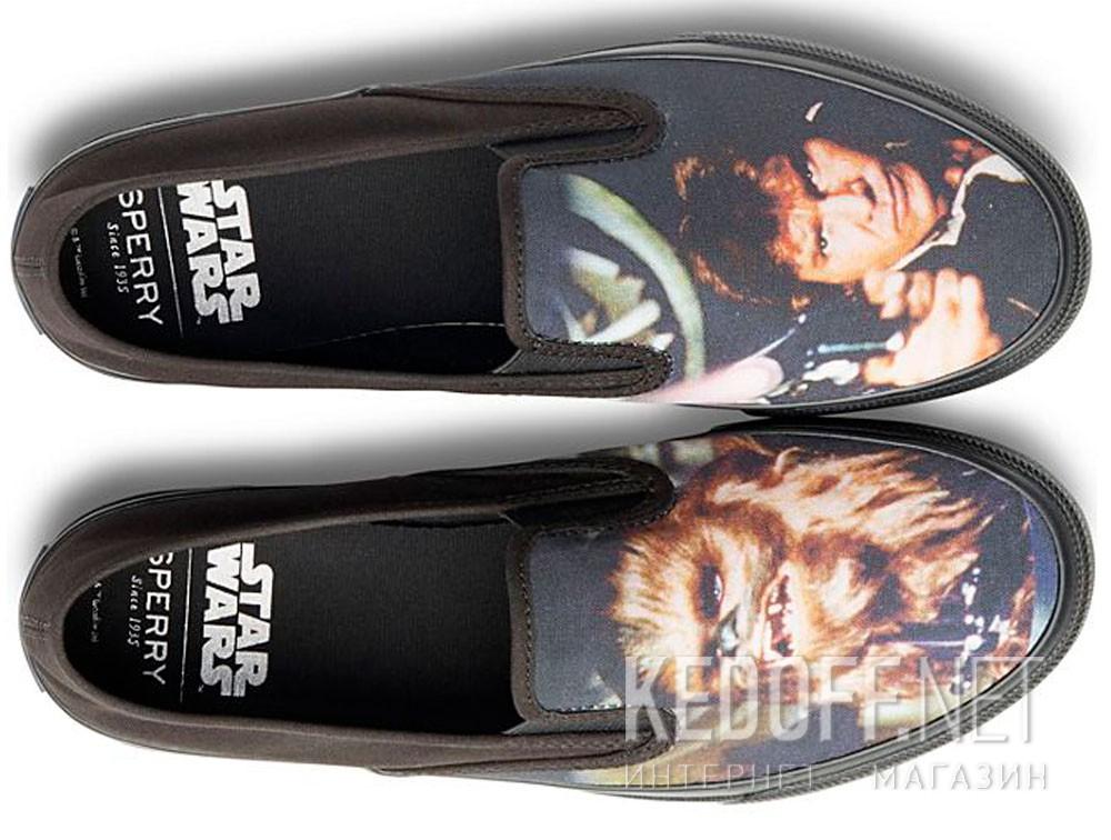 Слипоны Sperry Cloud Slip On Han & Chewie Sneaker SP-17650 Star Wars унисекс   (чёрный) купить Украина