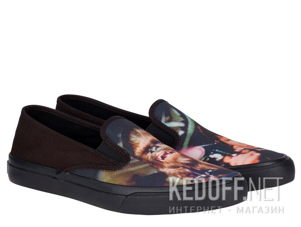 Купить Слипоны Sperry Cloud Slip On Han & Chewie Sneaker SP-17650 Star Wars унисекс   (чёрный)