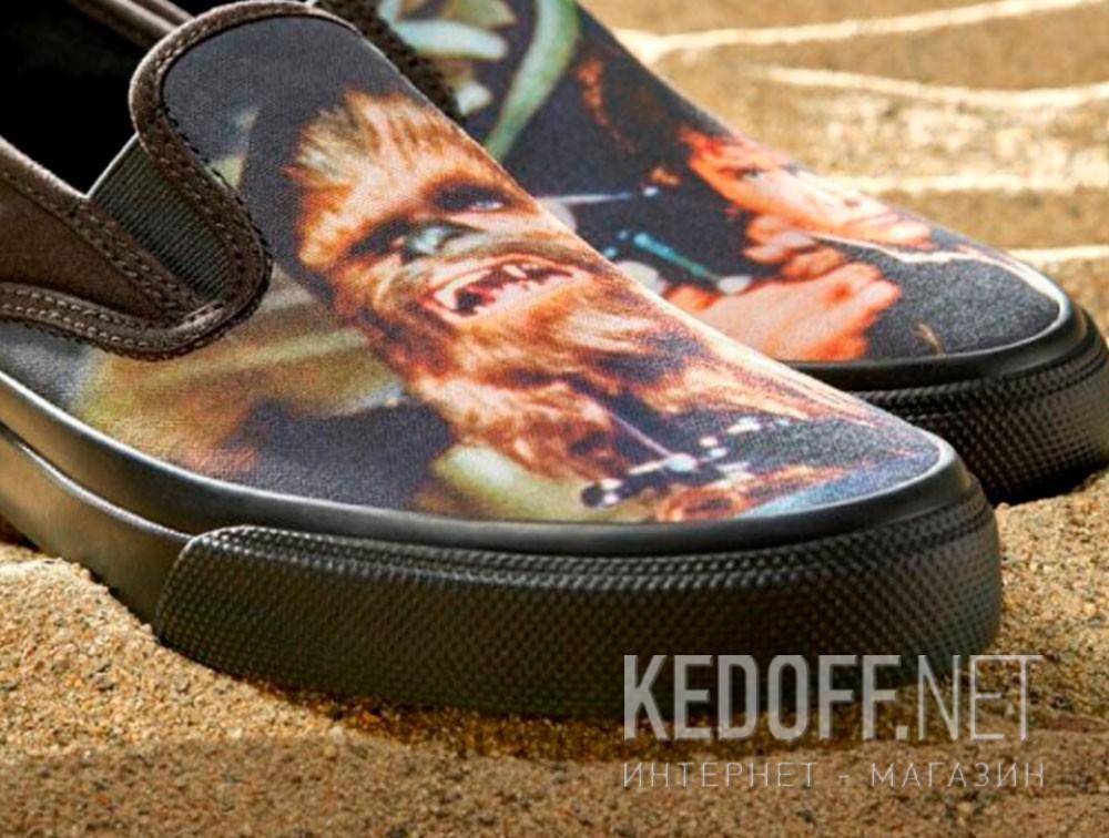 Слипоны Sperry Cloud Slip On Han & Chewie Sneaker SP-17650 Star Wars унисекс   (чёрный) купить Киев