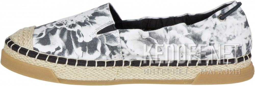 Слипоны Sperry Top-Sider LAUREL REEF PRINTS SP-98932   (серый/белый) купить Киев