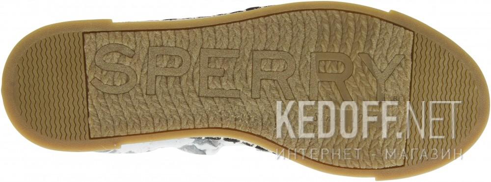Цены на Слипоны Sperry Top-Sider LAUREL REEF PRINTS SP-98932   (серый/белый)