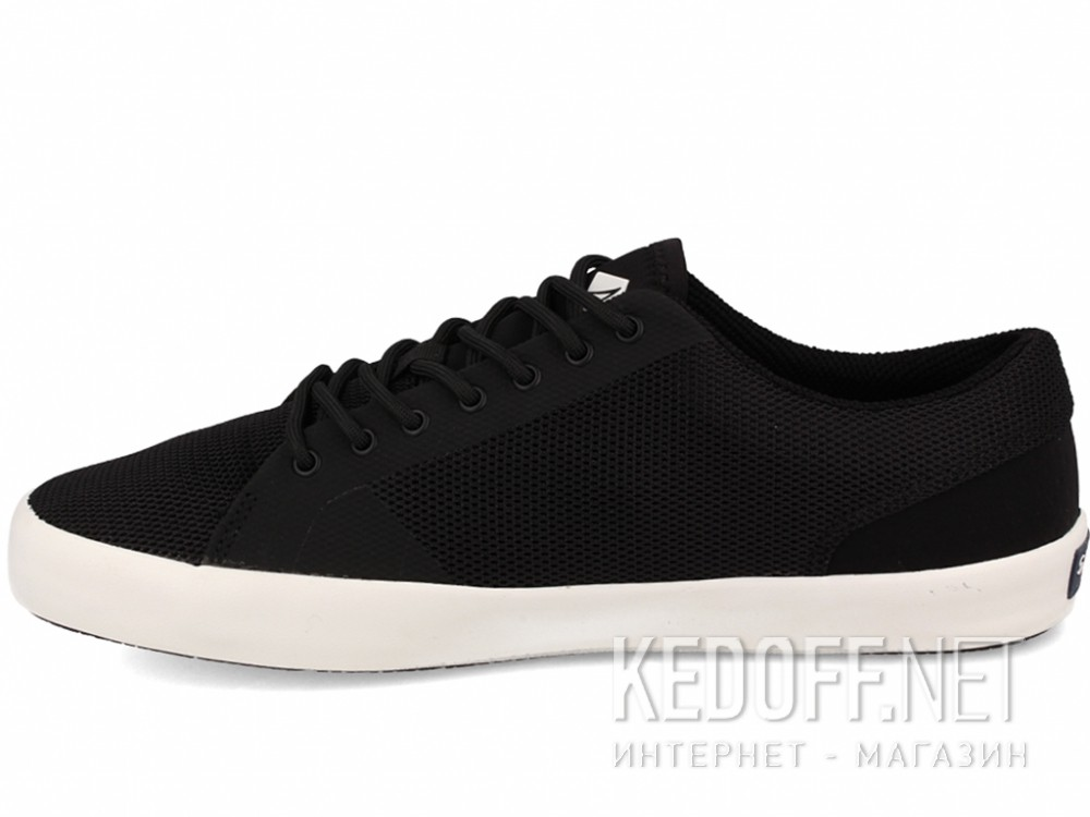 Конверсы Sperry Top-Sider FLEX DECK LTT SP-15055 унисекс   (чёрный) купить Украина