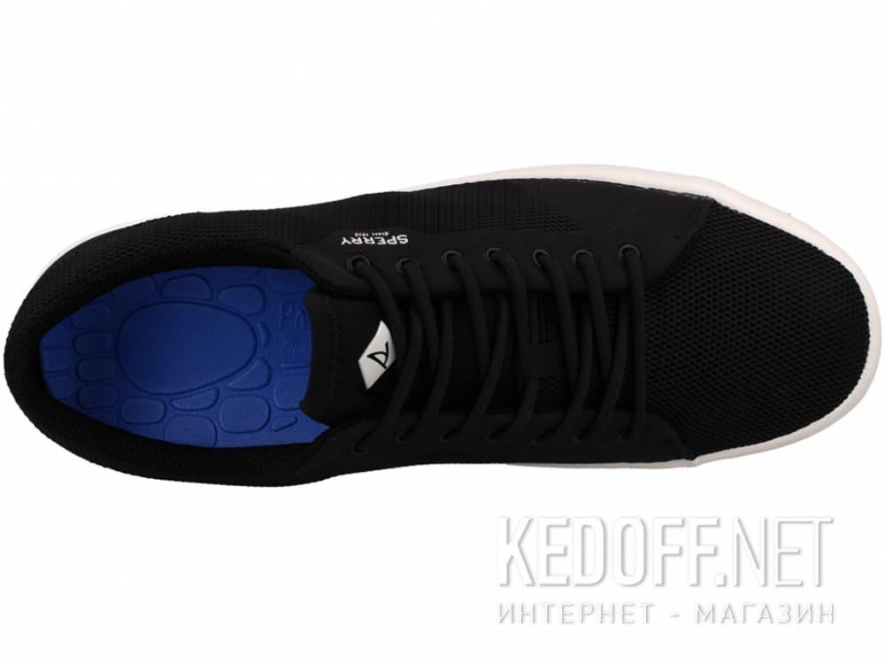 Конверсы Sperry Top-Sider FLEX DECK LTT SP-15055 унисекс   (чёрный) купить Киев