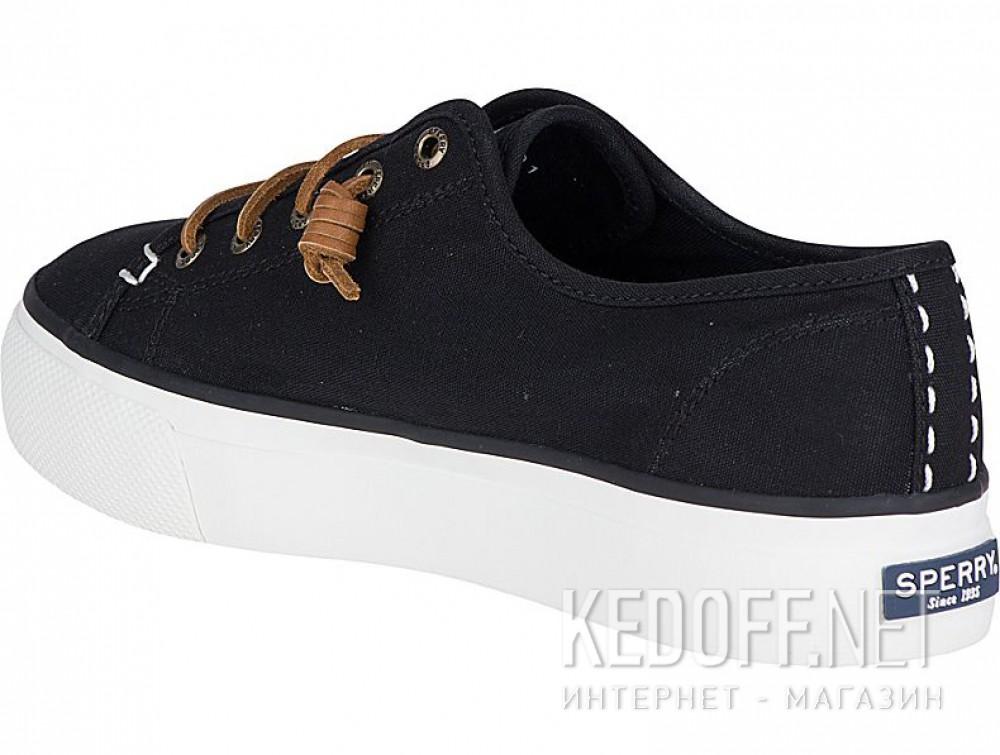 Текстильная обувь Sperry Top-Sider Sky Sail Canvas Sp-99191 унисекс   (чёрный) купить Украина