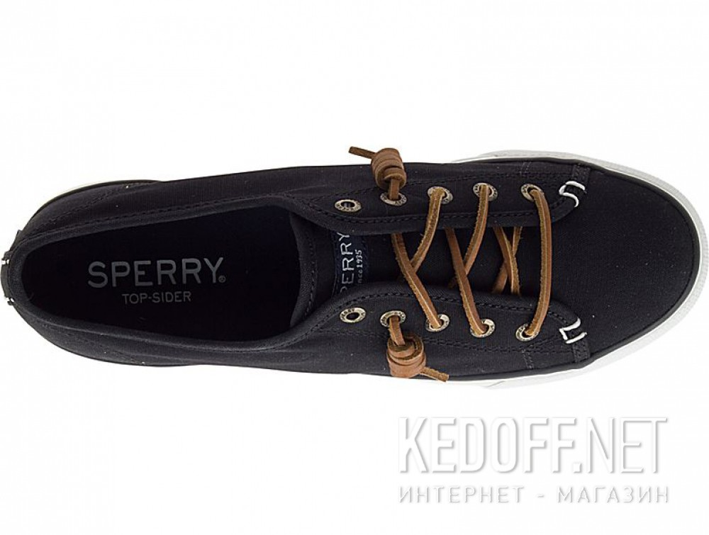 Чёрные кеды Sperry Top-Sider Sky Sail Canvas Sp-99191 унисекс   (чёрный) купить Киев