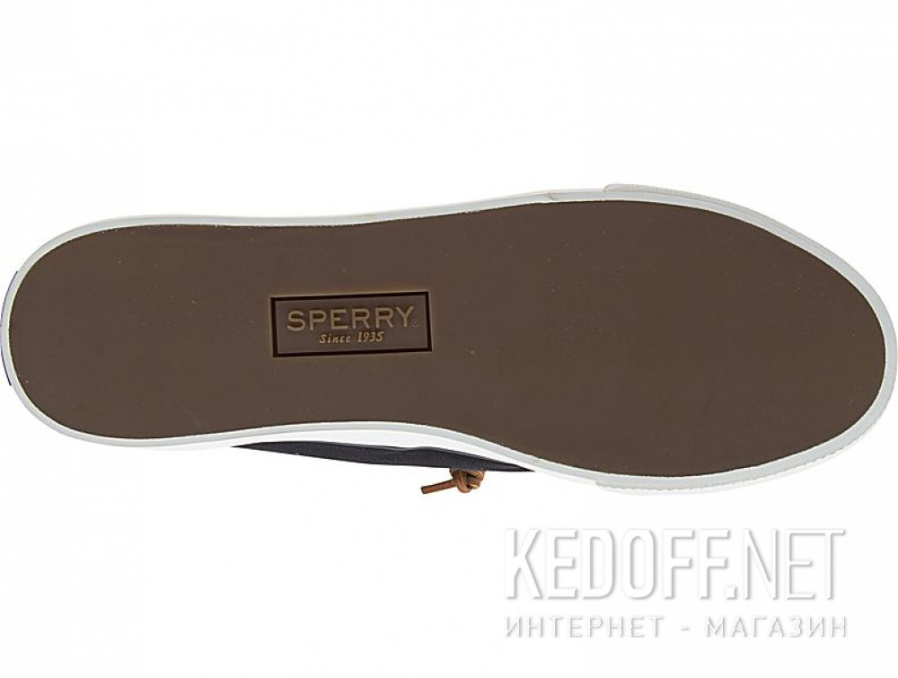 Оригинальные Чорні кеди Sperry Top-Sider Sky Sail Canvas Sp-99191 унісекс (чорний)