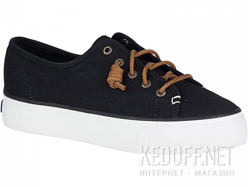 Купить Текстильная обувь Sperry Top-Sider Sky Sail Canvas Sp-99191 унисекс   (чёрный)