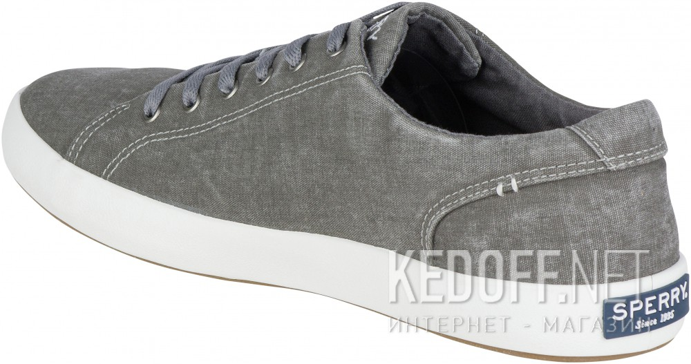 Оригинальные Кеды Sperry Top-Sider SP-15072   (тёмно-серый/серый)