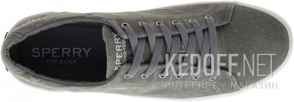 Кеды Sperry Top-Sider SP-15072   (тёмно-серый/серый) описание