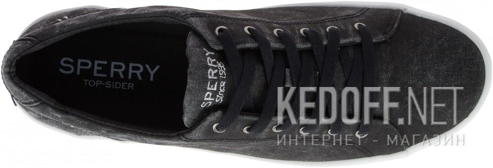 Мужские кеды Sperry Top-Sider SP-15073   (чёрный) описание
