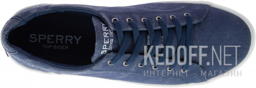Мужские кеды Sperry Top-Sider SP-15245   (тёмно-синий)