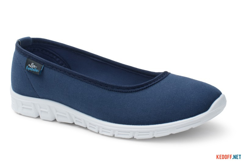 Sports ballerinas Las Espadrillas Motion Foam 22635-89 Navy