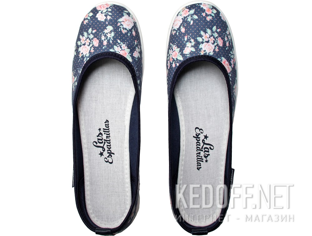 Sports ballerinas Las Espadrillas denim Rose Motion Foam 42635-8034